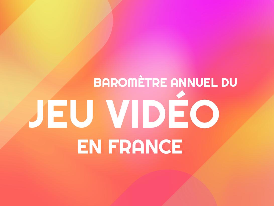 Baromètre annuel du jeu vidéo SNJV gamingcampus.fr