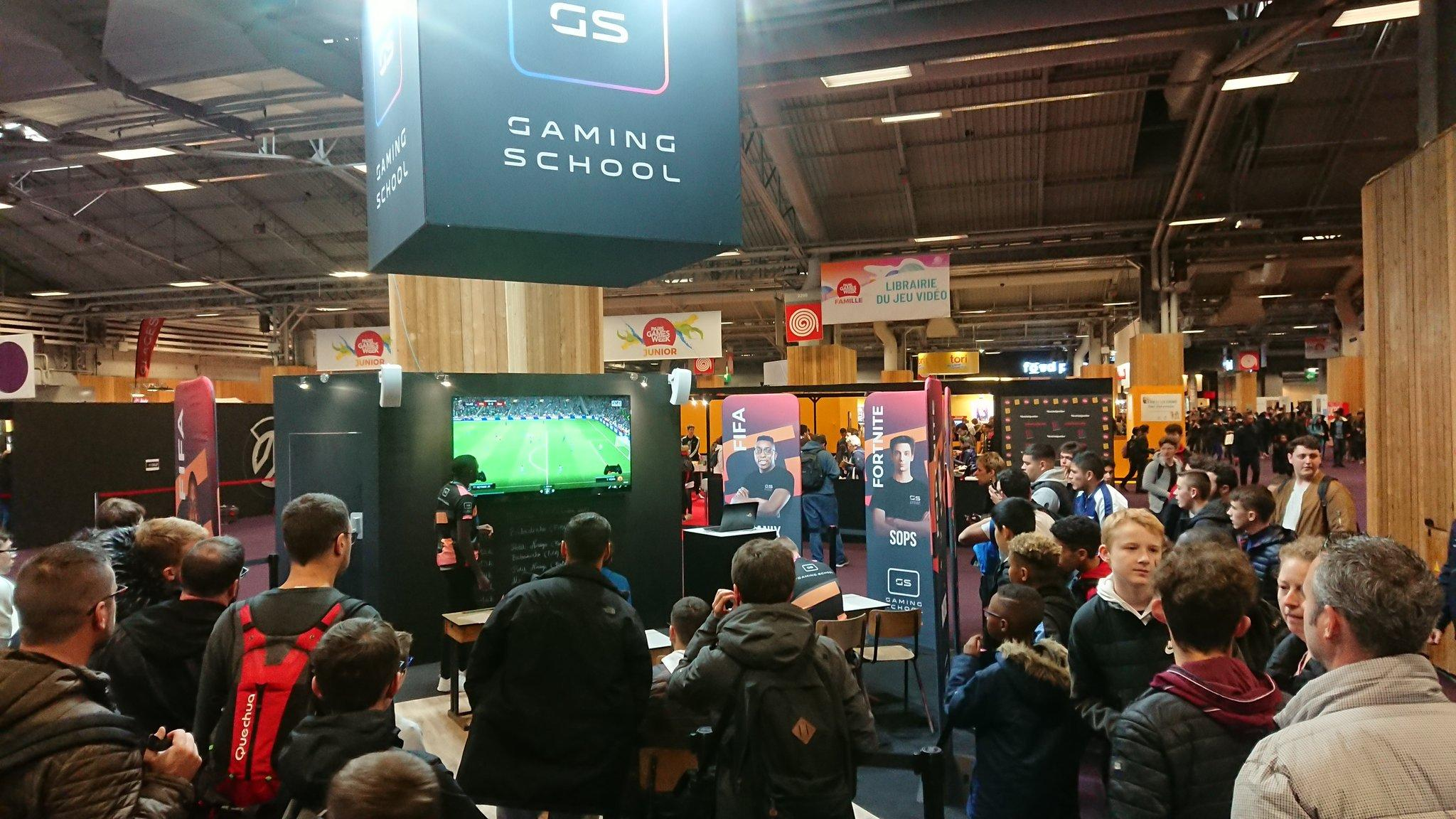 Masterclass Gaming School 2 - gamingcampus.Fr