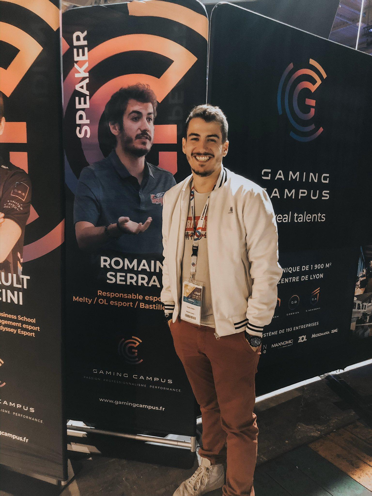 Romain Serra - PGW - gamingcampus.fr