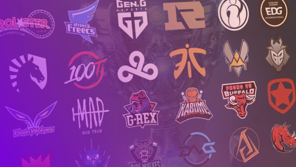 Logos d'équipes esport