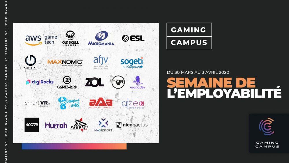 Les entreprises qui participent à la semaine de l'employabilité