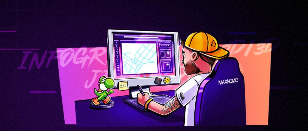 Fiche Métier Infographiste 2D / 3D jeux video