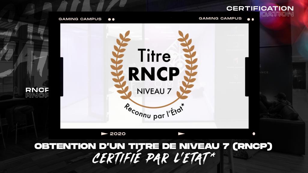 Logo du Titre RNCP de Niveau 7