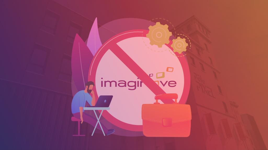 Imaginove le logo et un professionnel du jeu vidéo