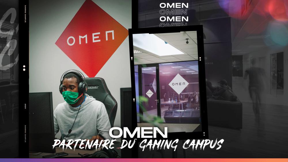 La salle esport OMEN du Gaming Campus