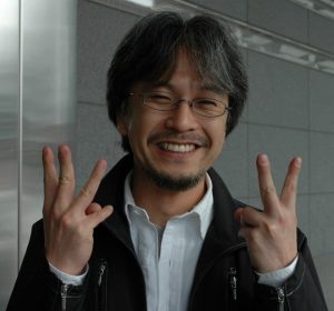 Photo du producer chez Nintendo, Eiji Aonuma