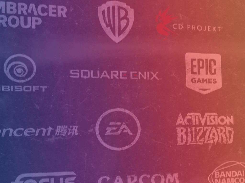 Logos d'éditeurs de jeux video
