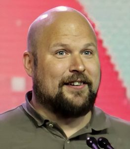 Photo de Markus Persson, producer de Minecraft