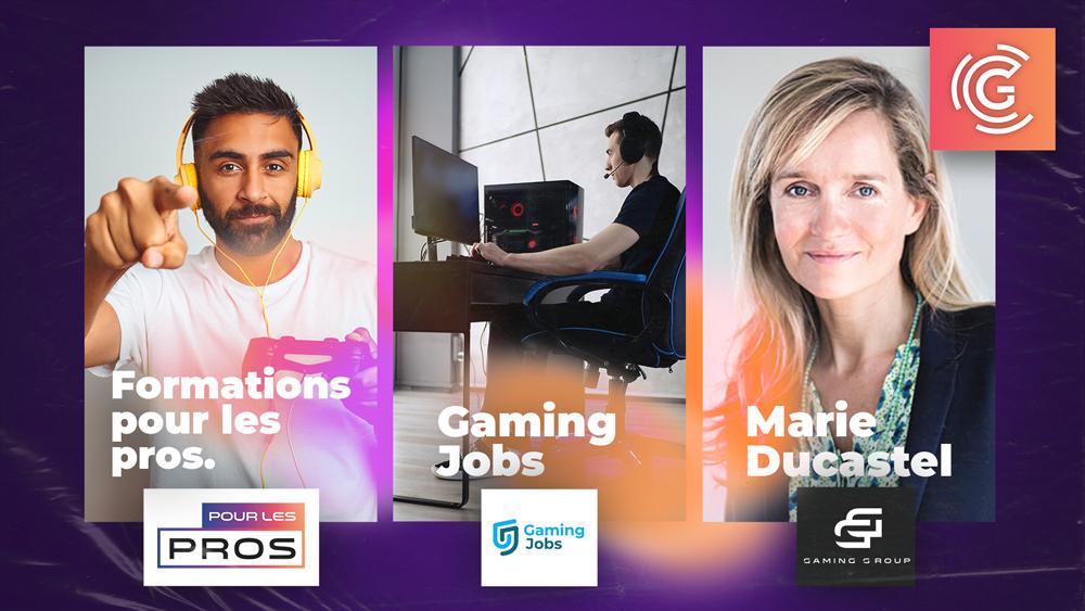 Gaming Campus lance la formation continue aux métiers du jeu vidéo